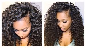 can you show me all the curly weave short hairstyles 2015 how to blend your leave out with curly hair extensions youtube