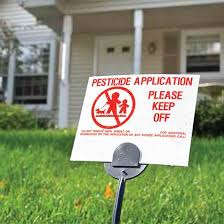 state laws on pesticide application notifications nature and