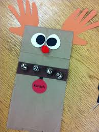 Holiday Crafts For Preschoolers - reindeer puppet holiday craft scholastic