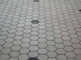 black and white hexagon tile floor and hexagon black and white