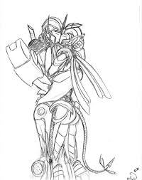 tfp prime with me uncolored by evaison on deviantart