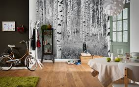 Wall Mural White Birch Trees Mesmerizing Mural Designs Brewster Home
