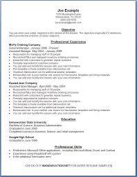 10 best resume formats free resume exles 10 best detailed efficient effective online free