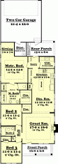 Cottage Style Floor Plans Apartments 3 Story Townhome Plans Perfect Story House Plans