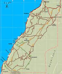 Map Of Morocco And Spain by Western Sahara U0027 Sahara Overland