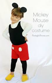 Mickey Mouse Costume Halloween Mickey Mouse Costume Mickey Mouse Costume Mouse Costume