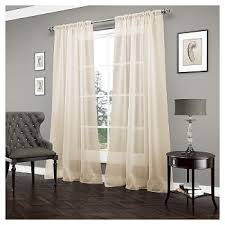 Sheer Gold Curtains Gold Window Treatments Target