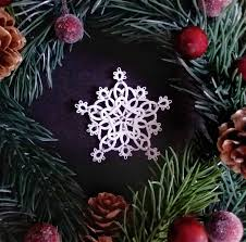 celtic christmas tree decoration christmas ornament snowflake