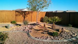 Modern Front Yard Desert Landscaping With Palm Tree And Amazing Desert Landscape Ideas Afrozep Com Decor Ideas And