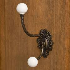 coat hook wall mounted with contemporary diamond shape design for