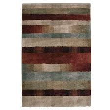 Fireplace Vacuum Lowes by Shop Orian Rugs Fading Panel Multicolor Rectangular Indoor Machine