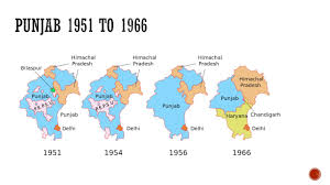 Punjab Map Punjab Gk Punjab After 1947 About Pepsu And Punjab Youtube
