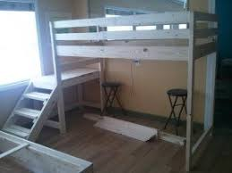 Custom Bunk Beds Full Size Loft Bed With Stairs Foter