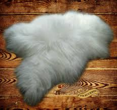 Fur Area Rug Thick White Mountain Sheepskin Faux Fur Area Rug By Fur Accents