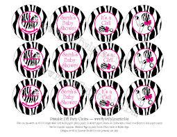 zebra baby shower baby shower zebra clipart 59