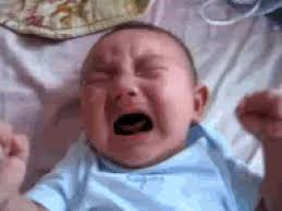 Crying Baby Meme - cry baby gif find share on giphy