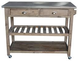 kitchen cart islands august grove comte kitchen cart island with wood top