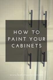 Painting Cabinets by Lovely Imperfection The 500 Kitchen Remodel Painting Cabinets
