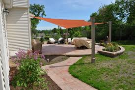Houzz Patios Shade Sails Traditional Patio Cleveland By Turf World Co