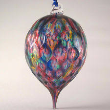 studio handcrafted ornament blown glass ebay