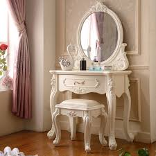 make up dressers maple furniture mirror ivory white makeup table style dresser in