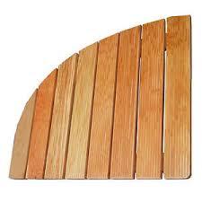 pedana legno pedana legno doccia angolare per piatto doccia 63x63 cm accessori