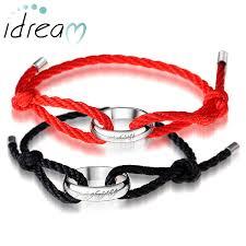 metal rope bracelet images Matching bracelets black red rope bracelets set lord of the jpg