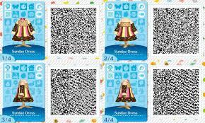 ac ice cream sundae dress qr codes by acnl qr codez on deviantart