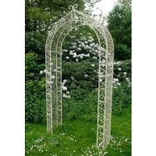 metal garden trellis archway french furniture from homesdirect