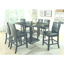 faux marble dining room table set marble dining room sets furniture of america newrock 7 piece counter
