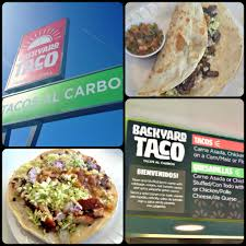 new to mesa backyard taco is so delicioso offering a simple menu