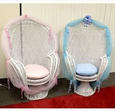 baby shower seat triangle party rentals