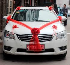 elegant car decoration for wedding images iawa