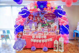 sofia the first table sofia the first sweets delight