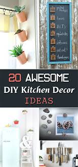 diy kitchen decor ideas these kitchen decor ideas can upgrade your vintage diy best images