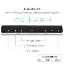 38 2 1 home theater sound bar with wireless subwoofer aliexpress com buy 60w hi fi bluetooth soundbar wireless