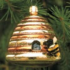 bee hive ornament because it s unique and i can honey