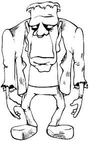 halloween coloring book pages frankenstein coloring pages trick