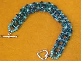 bead weave bracelet images How to make a right angle weave beaded bracelet hgtv jpeg