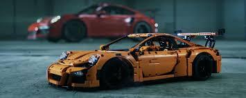 technic porsche 911 gt3 rs porsche 911 gt3 rs meets technic gt3 rs in latest ad