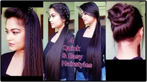 easy party hairstyles for medium length hair 4 quick u0026 easy heatless hairstyles for summer for medium long hair