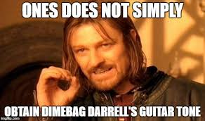 Darrell Meme - one does not simply leftover meme from metal mania week march