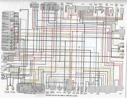 yamaha virago 535 wiring diagram yamaha wiring diagrams collection