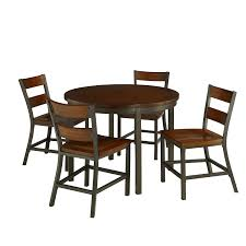 amazon com home styles 5411 308 cabin creek 5 piece dining set