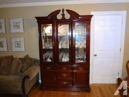 cherry wood china cabinet formal cherry wood dining table china cabinet chairs bassett cherry