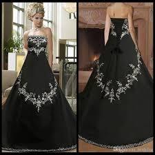plus size black wedding dresses discount black and white wedding dress plus size satin