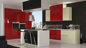 Gloss Red Kitchen Doors - backsplash mica kitchen cabinets how to choose materials for