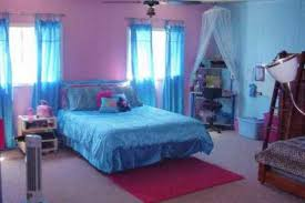 Cool Blue Rooms  SMITH Design  Cool Bedrooms For Young Girls In - Blue bedroom ideas for teenage girls