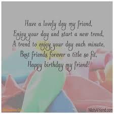 birthday cards unique friend birthday card message friend