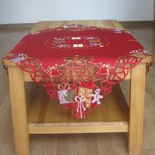 Christmas Table Cloths by Compare Prices On Christmas Red Tablecloths Online Shopping Buy